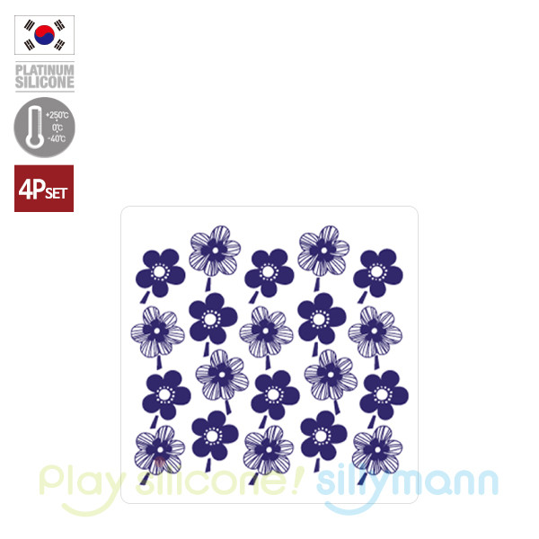 COASTER(BLUE FLOWER) WSK322