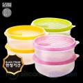 SILICONE FROZEN CONTAINER(CIRCLE) 370ML 2P WSK745