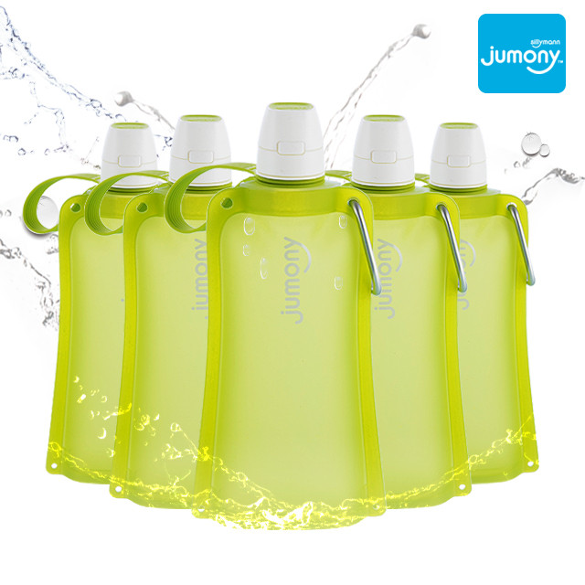 SILICONE WATER POUCH JUMONY(EASY LIME) WSK421