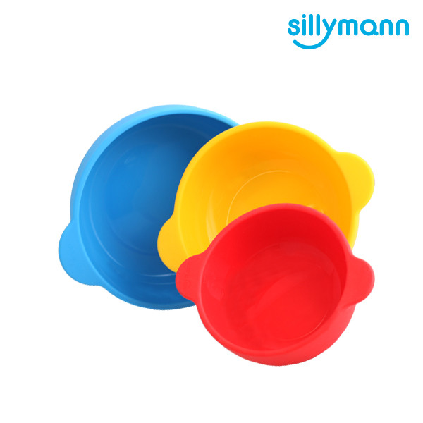 SILICONE BOWL 3P SET WSB2001