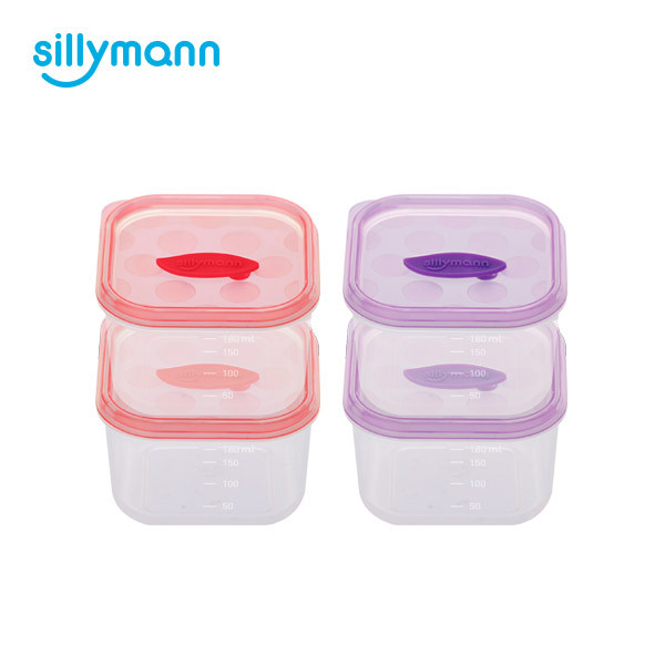 BABY FOOD CONTAINER(SQUARE)180ml WSB257