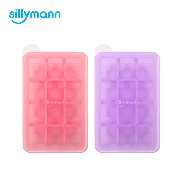 SILICONE BABY FOOD TRAY 12CUBE(30ml) WSB811