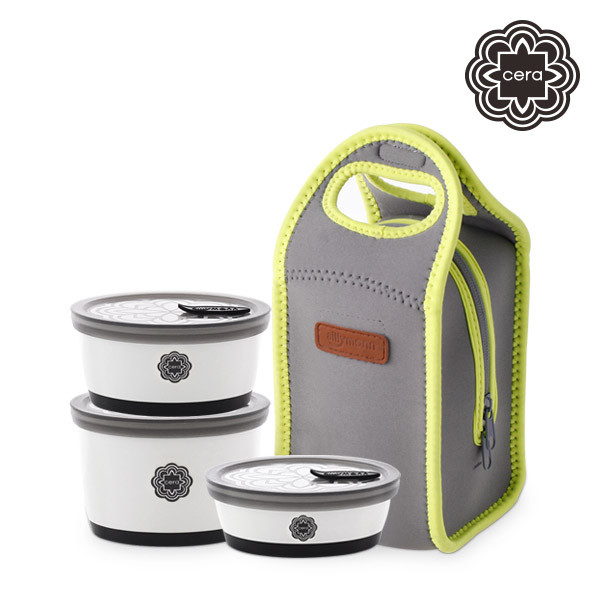 [sillymann CERA] CERA LUNCH BOX 3P SET WCK9620
