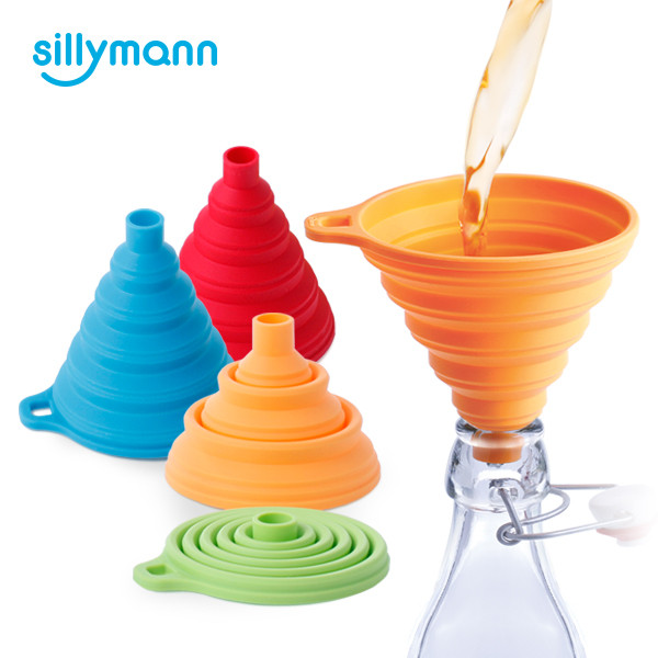SILICONE COLLAPSIBLE FUNNEL WSK417