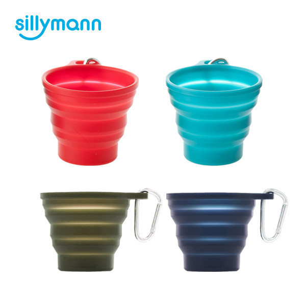 SILICONE FOLDING CUP(230ml) WSK414