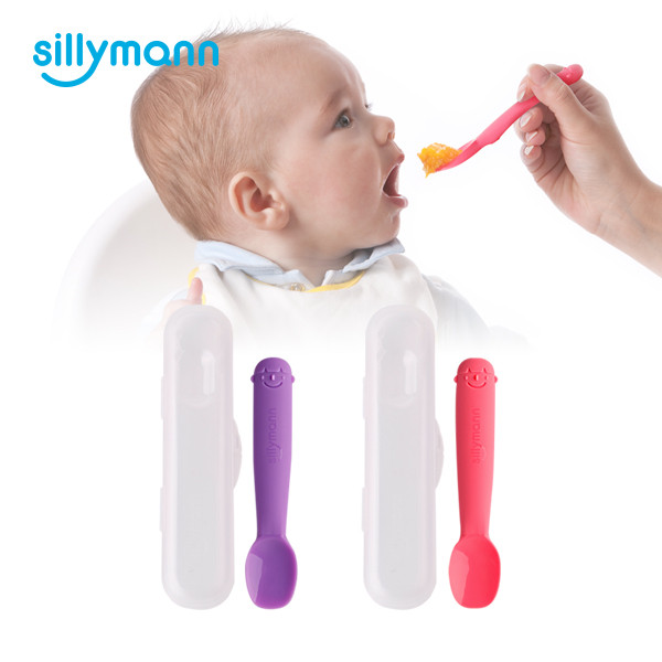 SILICONE BABY SPOON(L) WSB235