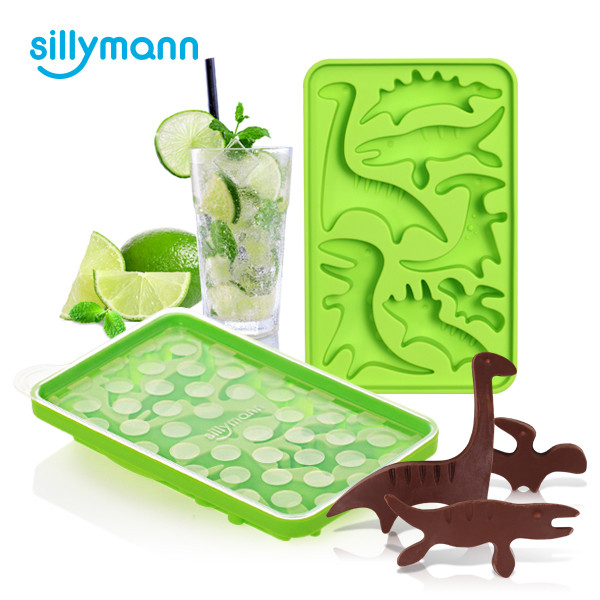 [sillymann] silicone ice mould(dino) WSK816