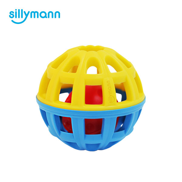 SILICONE RATTLE BALL WSB568