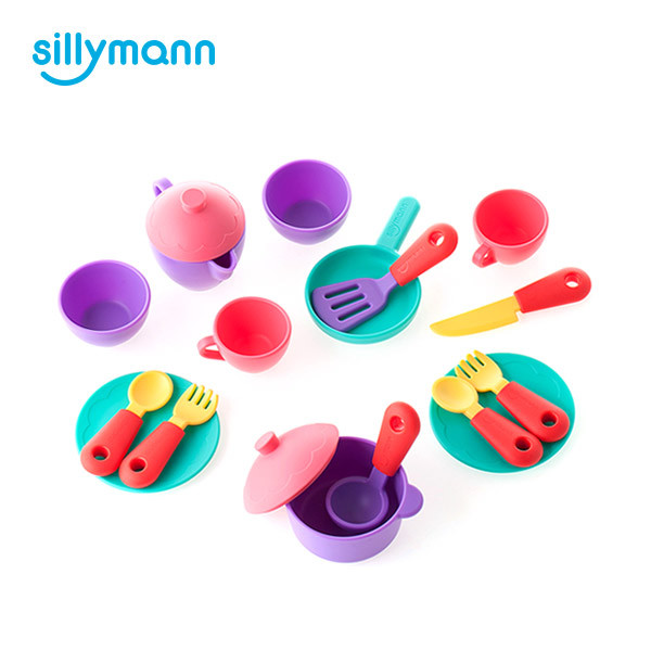 SILICONE COOKING PLAY SET WSB532