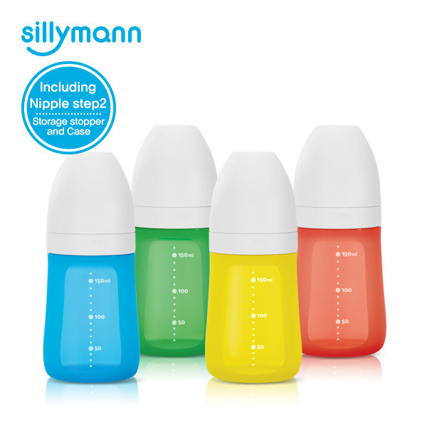 SILICONE FEEDING BOTTLE 160ml/9oz WSB110