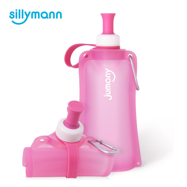 SILICONE WATER POUCH JUMONY(EASY PINK) WSK423