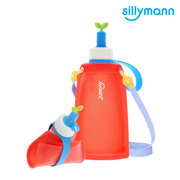 SILICONE KIDS WATER POUCH JUMONY(SCARLET) WSK422
