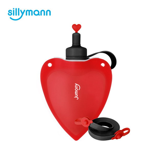 SILICONE HEART JUMONY(RED) WSK424