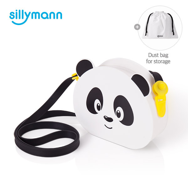SILICONE PANDA KIDS BAG WSA103