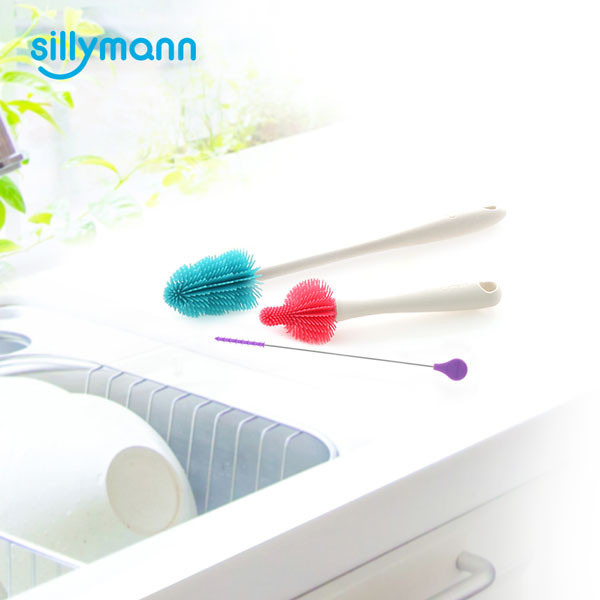 SILICONE BRUSH 3P SET WSK3361