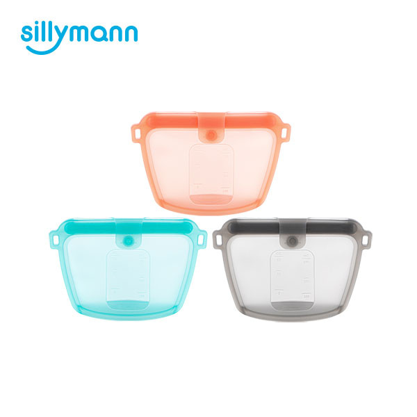 SILICONE FOOD POUCH 350ml WSK3193