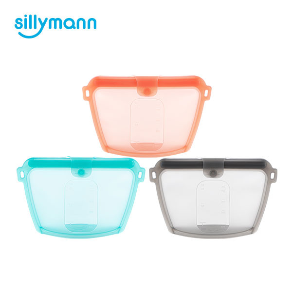 SILICONE FOOD POUCH 700ml WSK3194