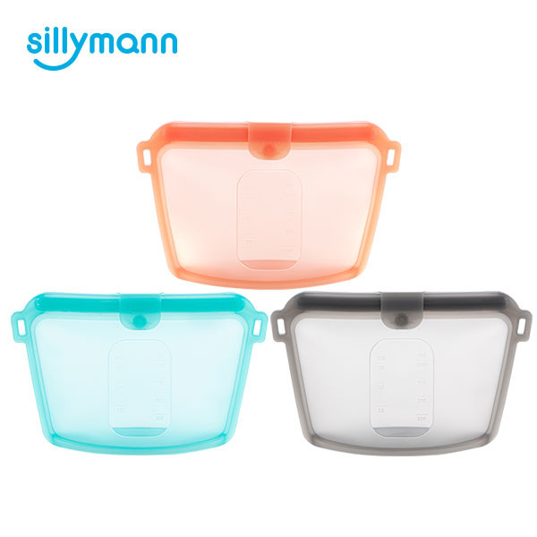 SILICONE FOOD POUCH 1000ml WSK3195