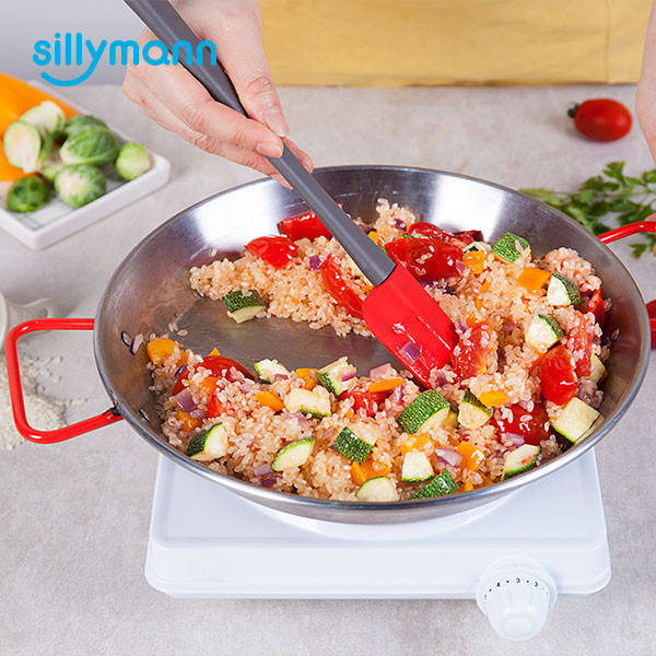 SILICONE FRYING SPOON WSK331