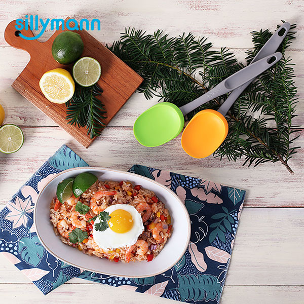SILICONE LIGHT GRIP FRYING SPOON WSK3315